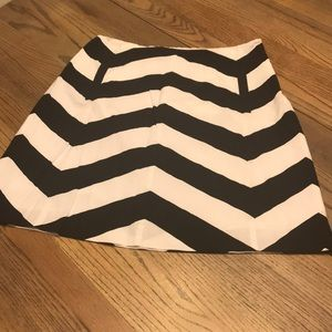 The Limited Chevron Skirt